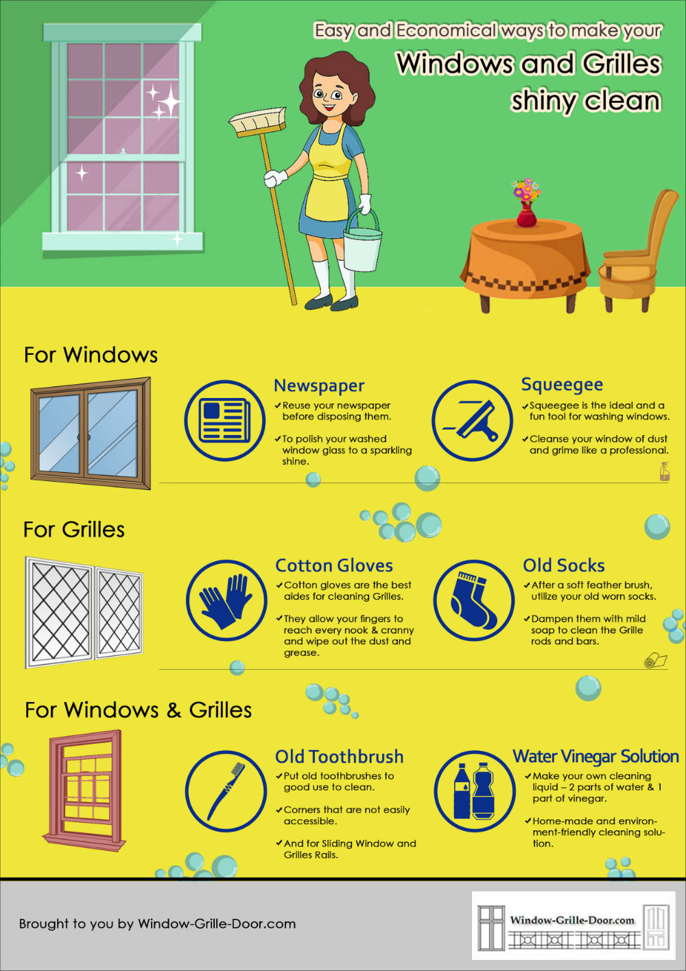 best thing to clean windows clean windows and grilles with reusable materials easy ways to clean windowgrilledoorcom