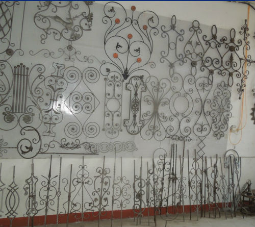 Wrought Iron Design For Home Decor Window Grille Doorcom