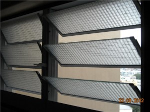 Bathroom Window Louvres