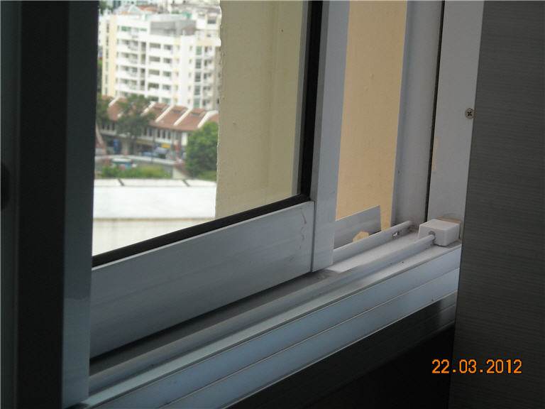 Sliding Window Rails